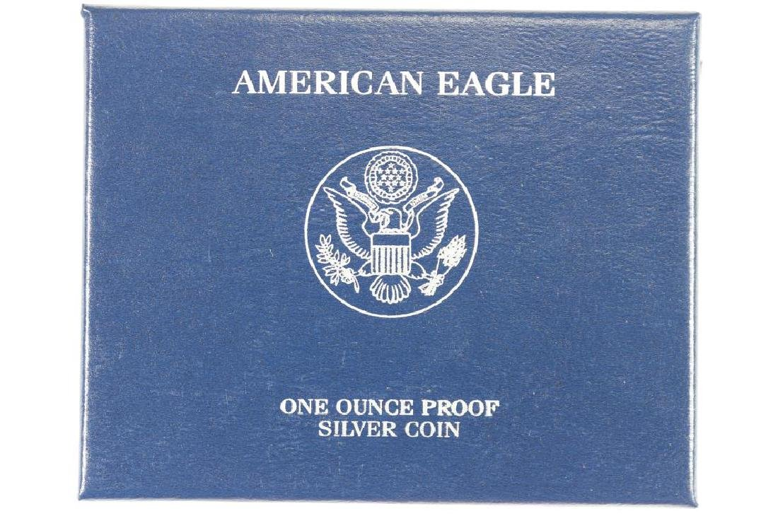 2007-W PROOF AMERICAN SILVER EAGLE - 3
