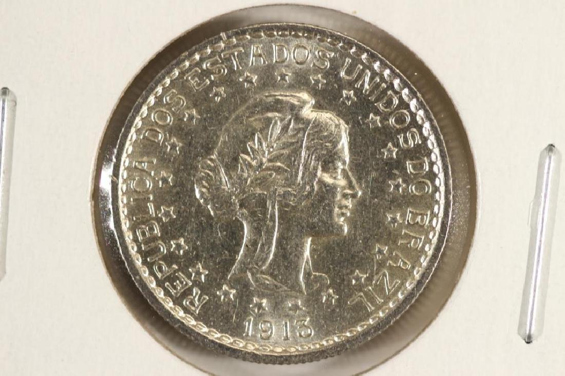 1913-A BRAZIL 500 REIS UNC