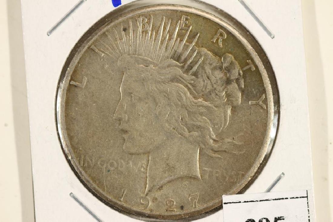 1927 PEACE SILVER DOLLAR