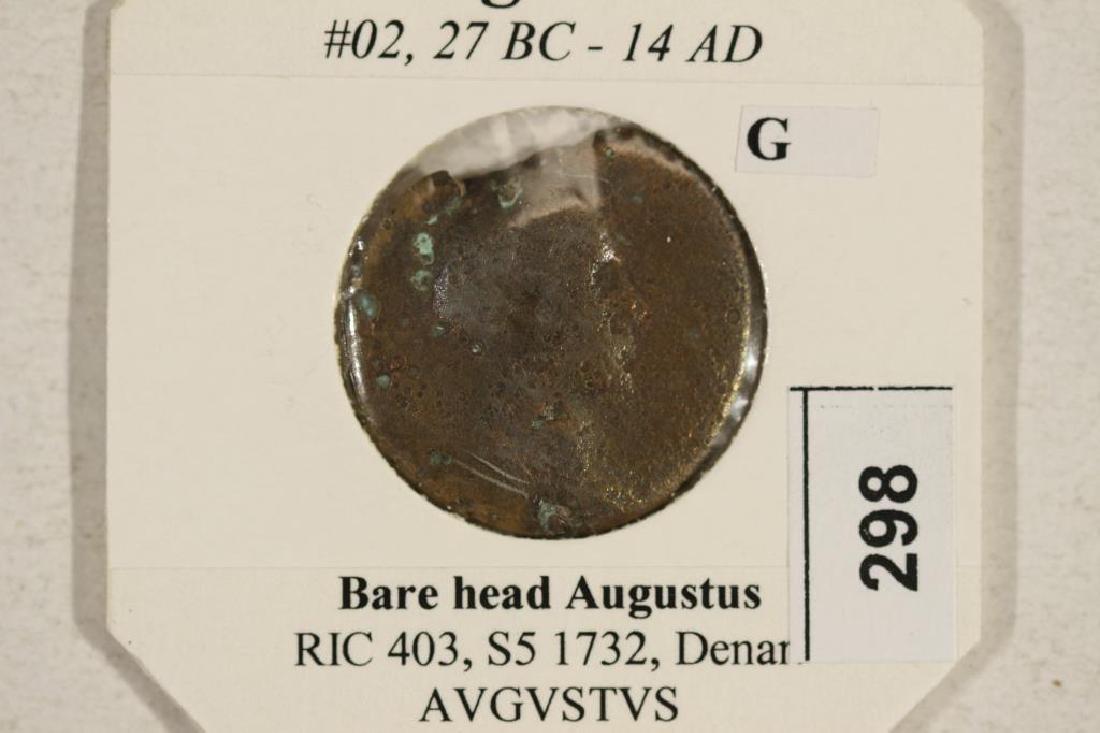 27 B.C.-14 A.D. AUGUSTUS ANCIENT COIN - 3