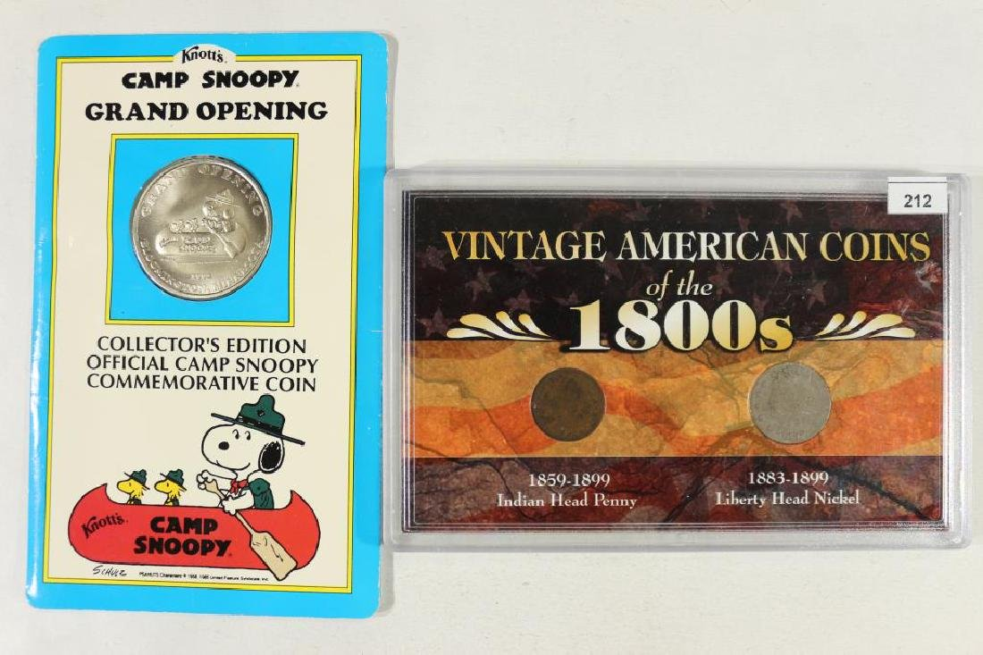 2 PACKAGED COIN SETS SEE DESCRIPTION
