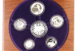 2007 AUSTRALIA FINE SILVER PROOF SET 2 OZ OF SILV