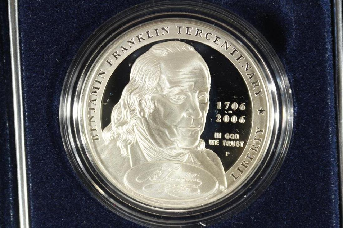 "2006-P BENJAMIN FRANKLIN ""FOUNDING FATHER"" PROOF"