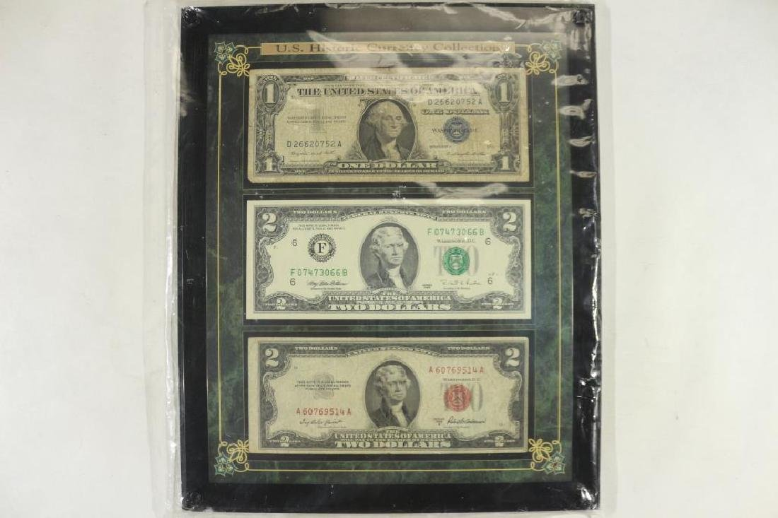 US HISTORIC CURRENCY COLLECTION 1957-A
