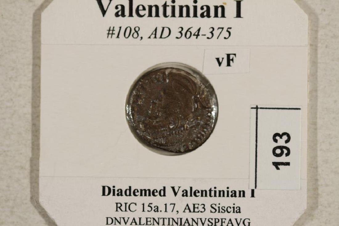 364-375 A.D. VALENTINIAN I ANCIENT COIN VERY FINE - 3