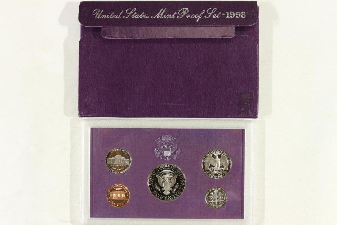 1993 US PROOF SET (WITH BOX) - 2