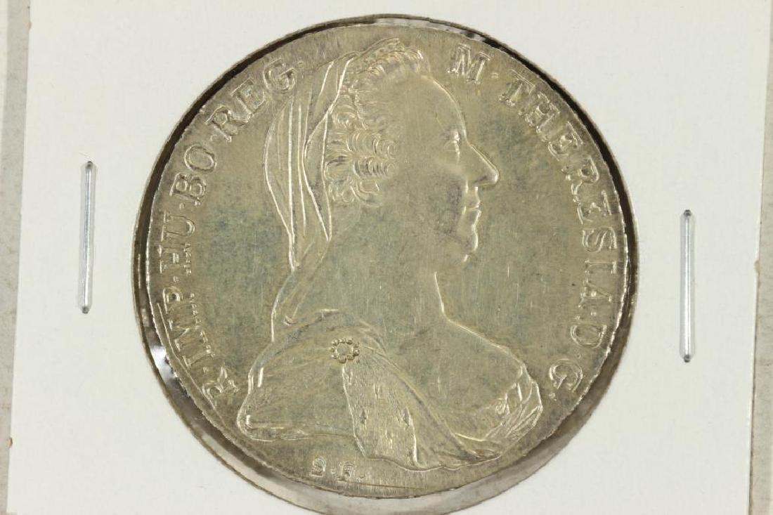 1780 AUSTRIA MARIA THERESIA THALER (SILVER)