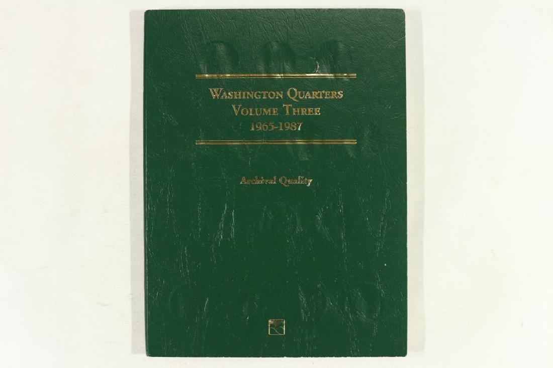 PARTIAL 1965-1987 WASHINGTON QUARTER ALBUM - 2