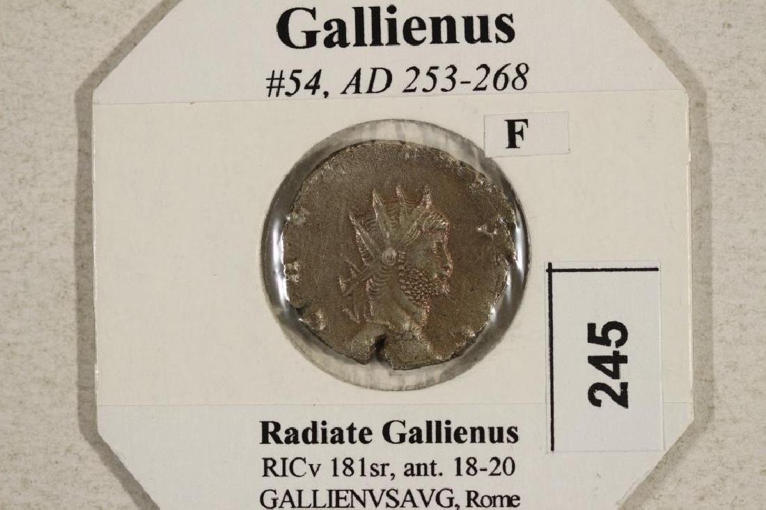253-268 A.D. GALLIENUS ANCIENT COIN (FINE) - 3