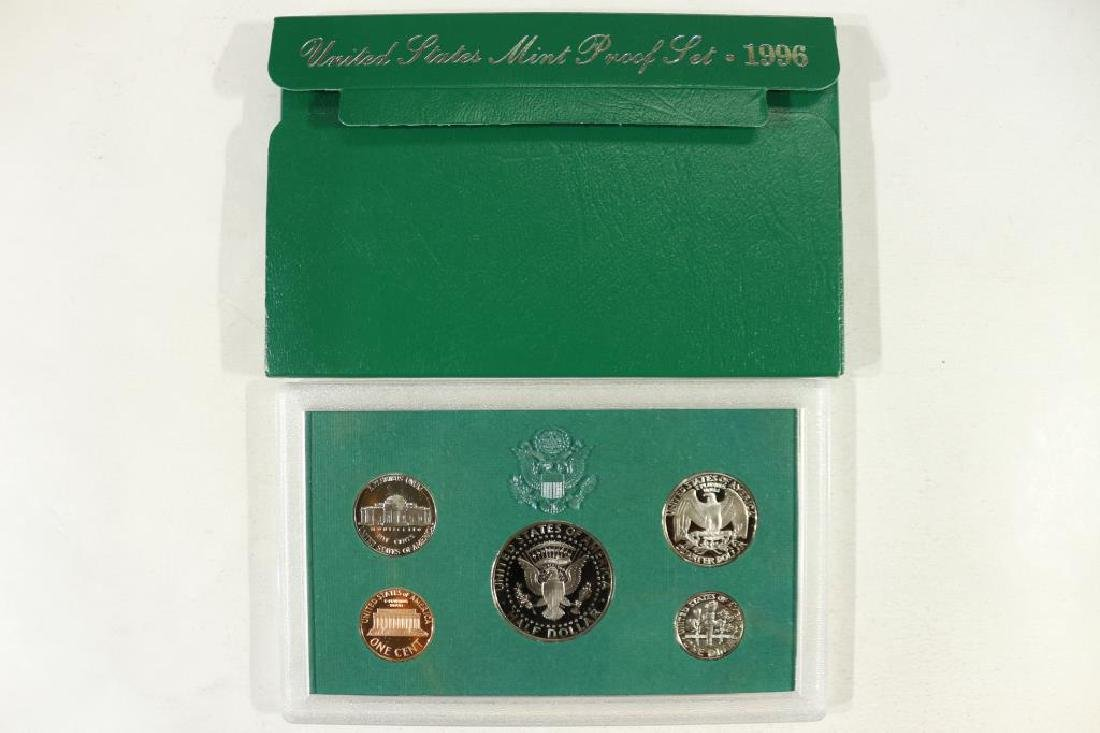 1996 US PROOF SET (WITH BOX) - 2