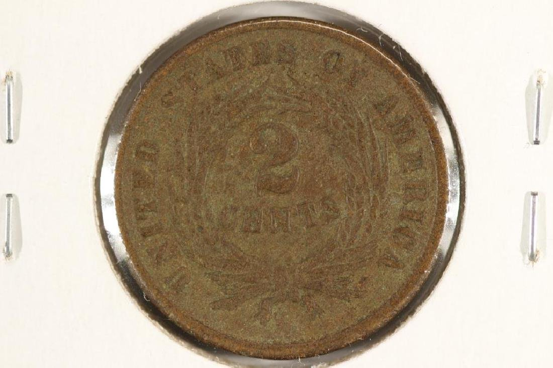 1865 US TWO CENT PIECE - 2