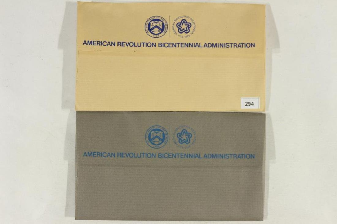 1974 & 1975 US MINT BICENTENNIAL FDC'S - 2