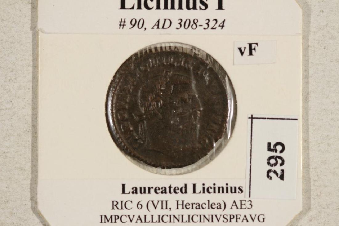 308-324 A.D. LICINIUS I ANCIENT COIN VERY FINE - 3