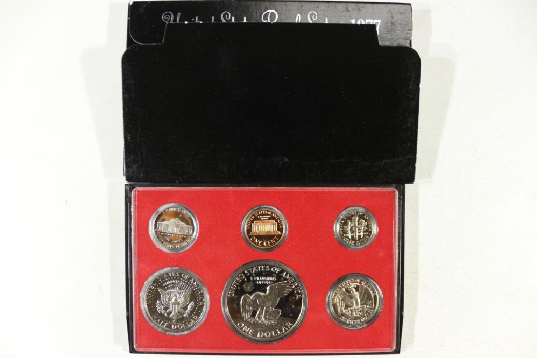 1977 US PROOF SET (WITH BOX) - 2