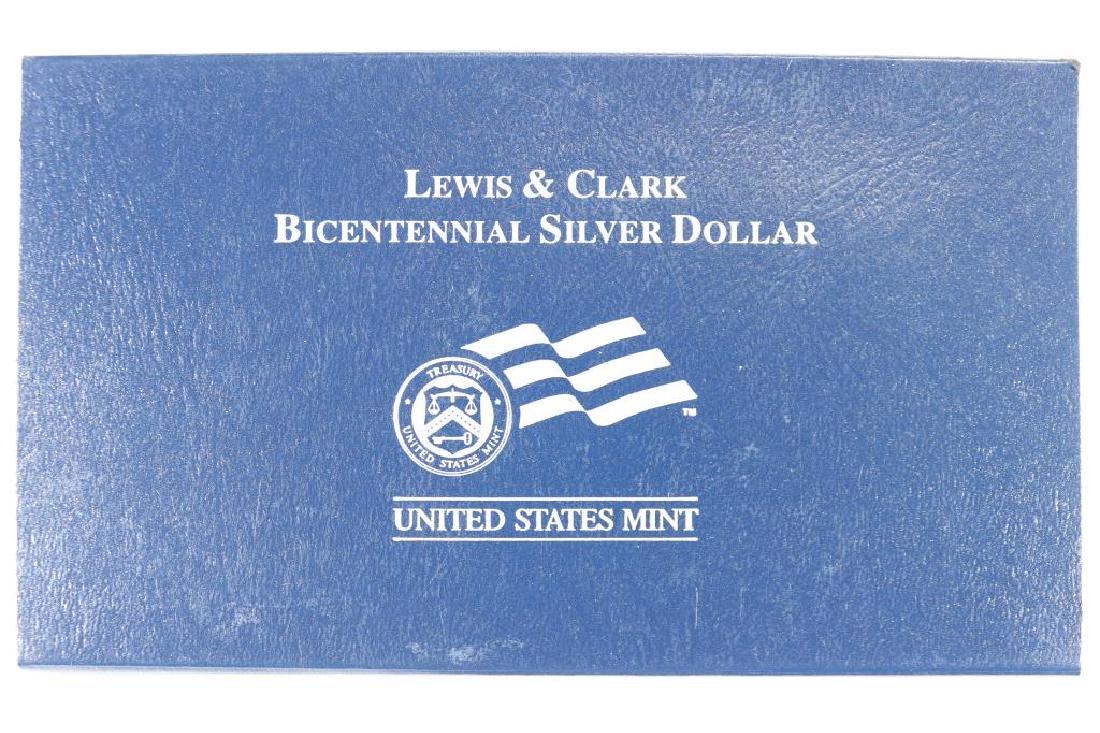 2004-P LEWIS & CLARK BICENTENNIAL UNC SILVER $ - 3