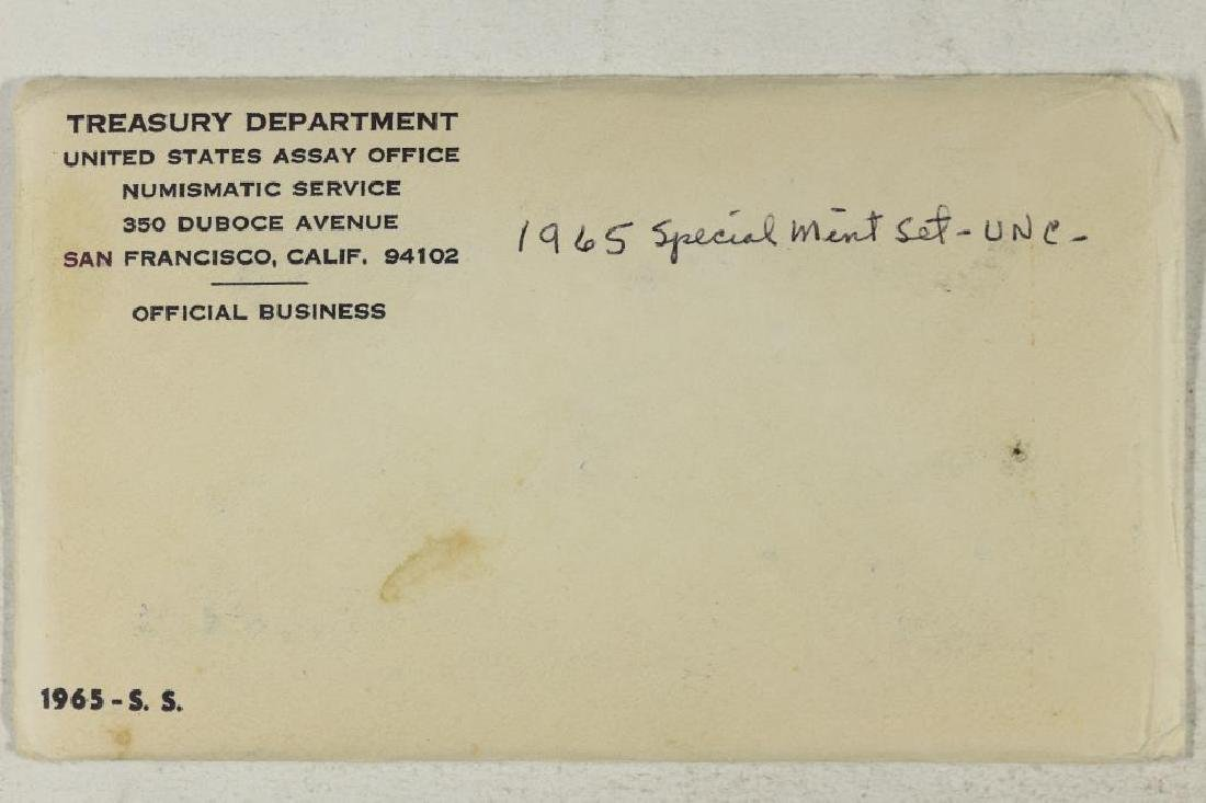 1965 US SPECIAL MINT SET WITH ENVELOPE SEALED