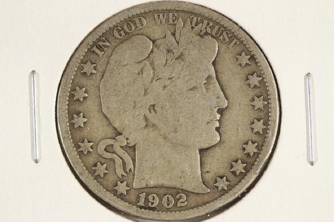 1902-O BARBER HALF DOLLAR