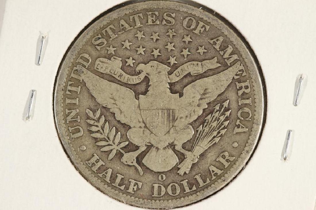 1902-O BARBER HALF DOLLAR - 2