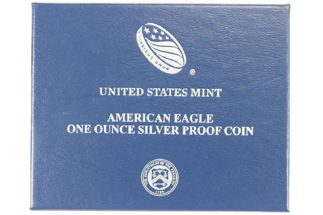2014-W PROOF AMERICAN SILVER EAGLE - 3