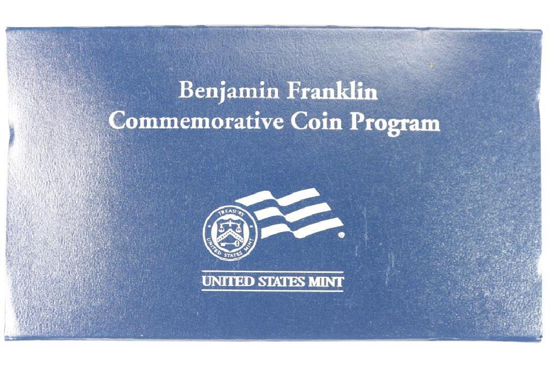 """2006-P BENJAMIN FRANKLIN  """"SCIENTIST"""" UNC SILVER $ - 3"""