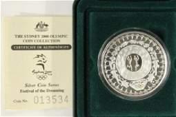 2000 AUSTRALIA 5 SILVER PROOF SYDNEY 2000