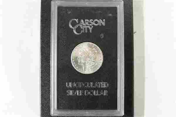 1884 -CC GSA MORGAN SILVER DOLLAR (UNC)