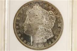 1880-S MORGAN SILVER DOLLAR ANACS MS62