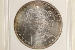 1882 MORGAN SILVER DOLLAR ANACS MS62