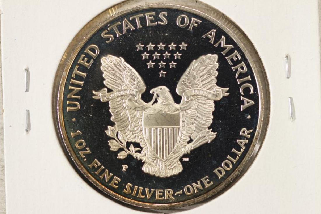 1995 PROOF AMERICAN SILVER EAGLE - 2