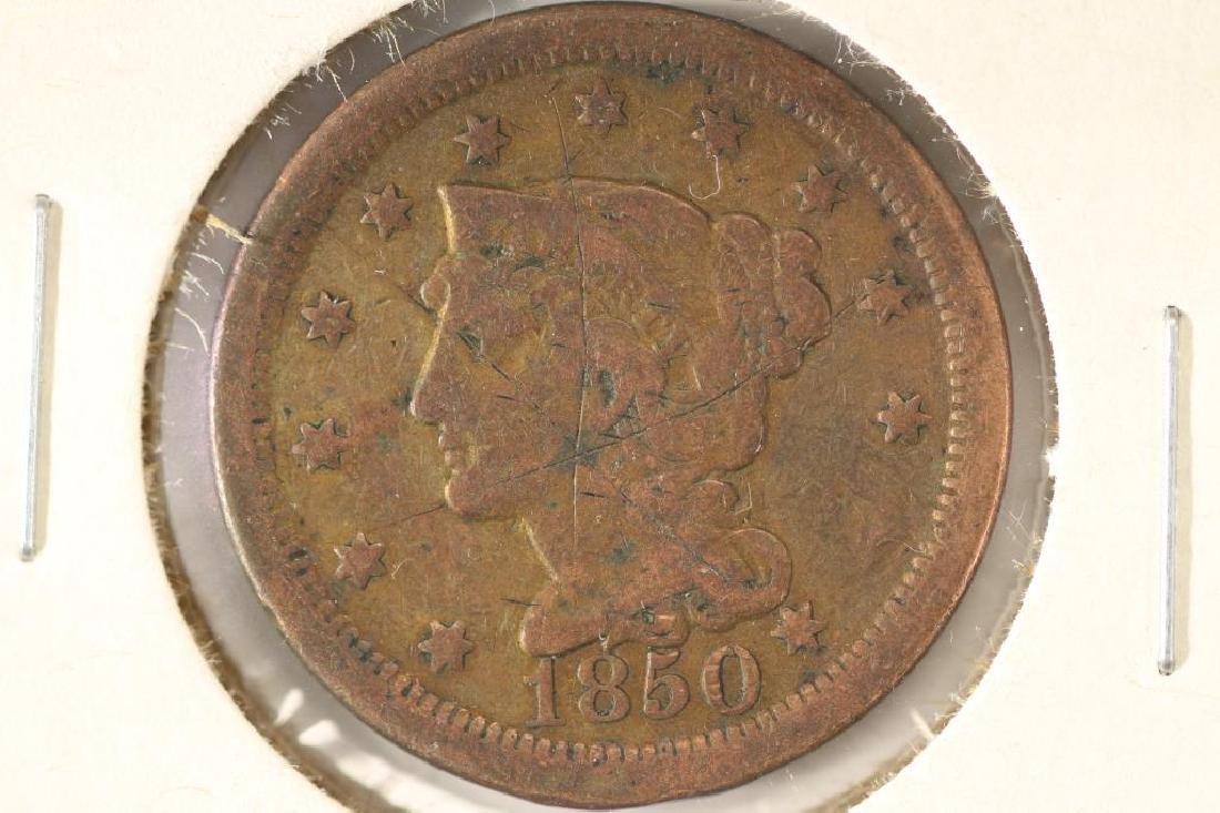 1850 US LARGE CENT