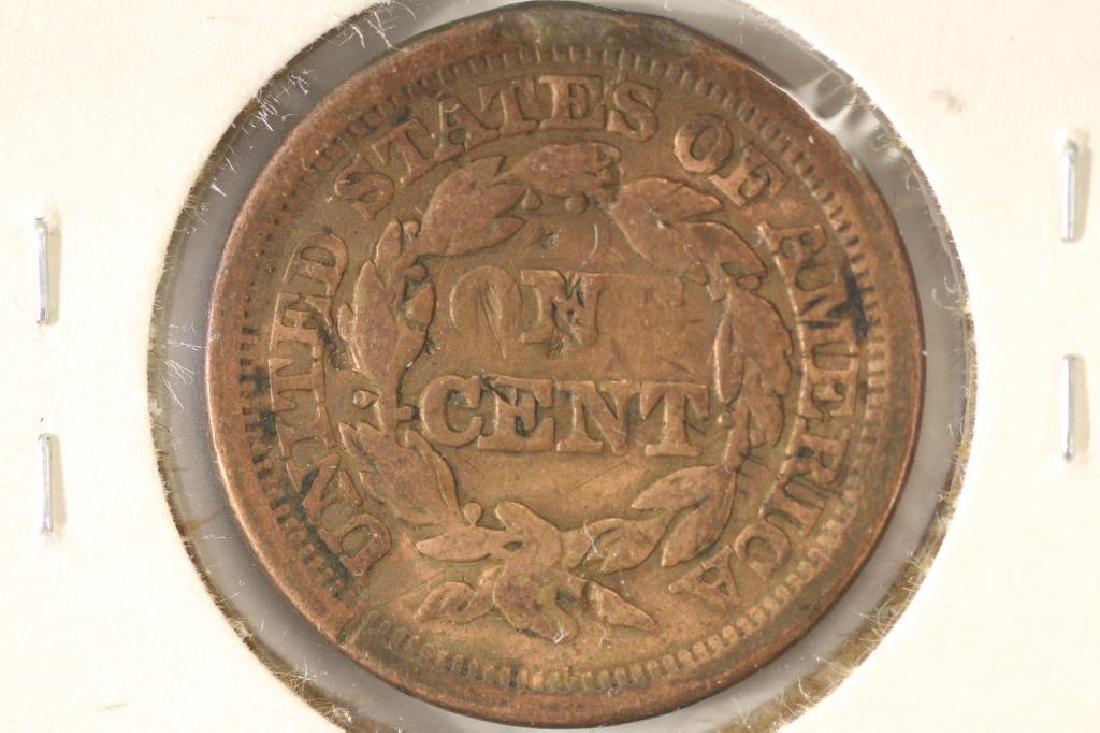 1850 US LARGE CENT - 2