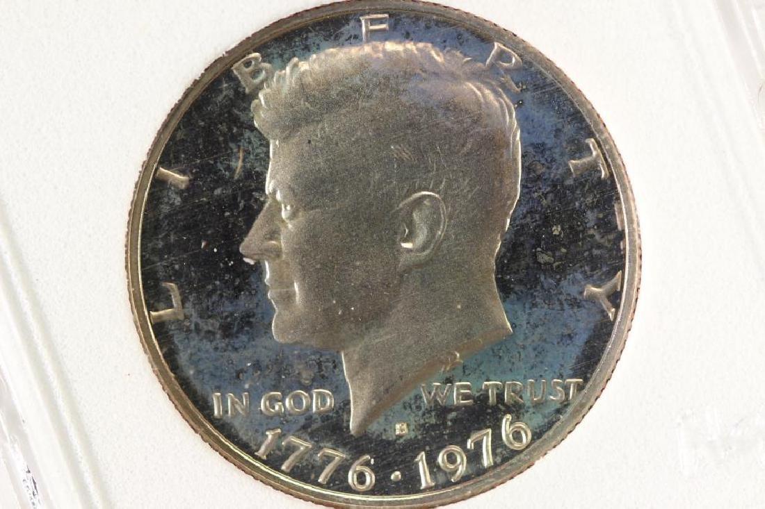 1976-S KENNEDY HALF DOLLAR PROOF DCAM