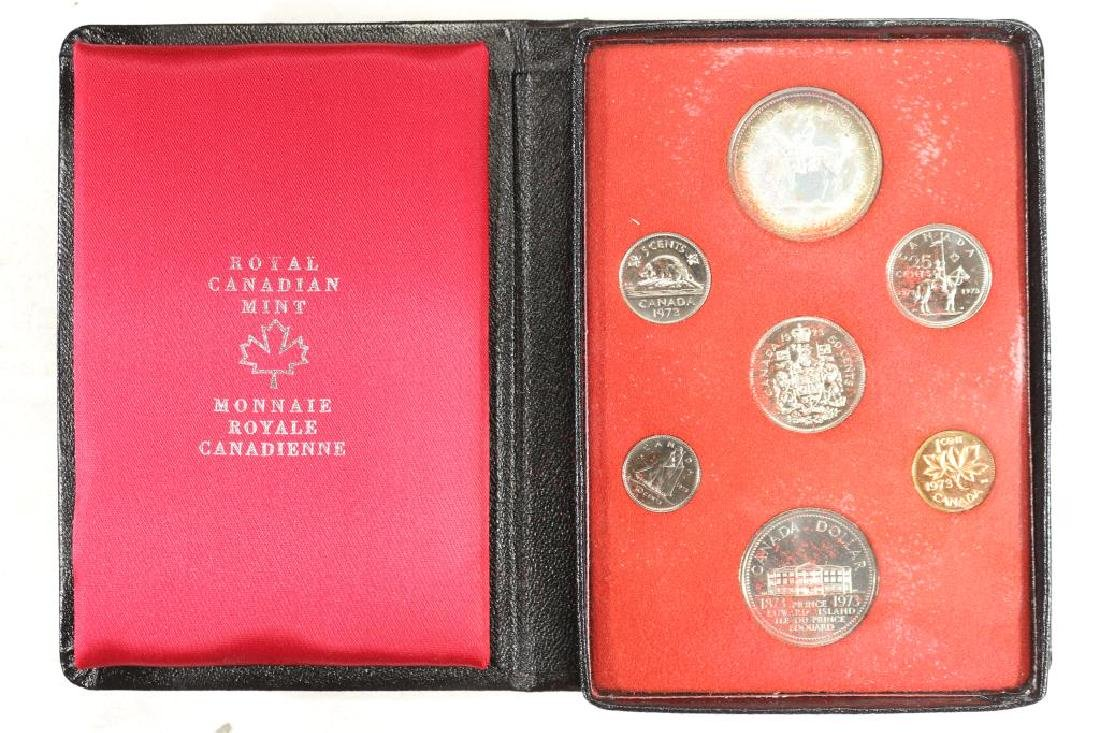 1973 CANADA DOUBLE DOLLAR PROOF SET R.C.M.P.