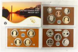 2013 US PROOF SET WITH BOX 14 PIECES