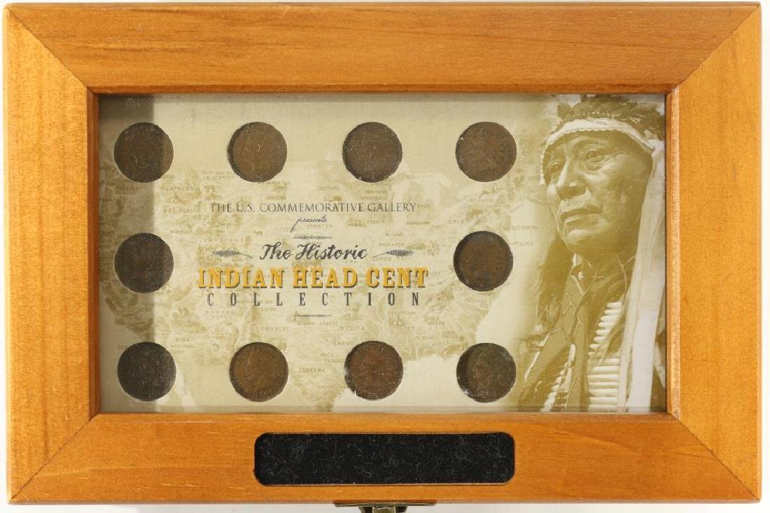 THE HISTORIC INDIAN HEAD CENT COLLECTION. 10