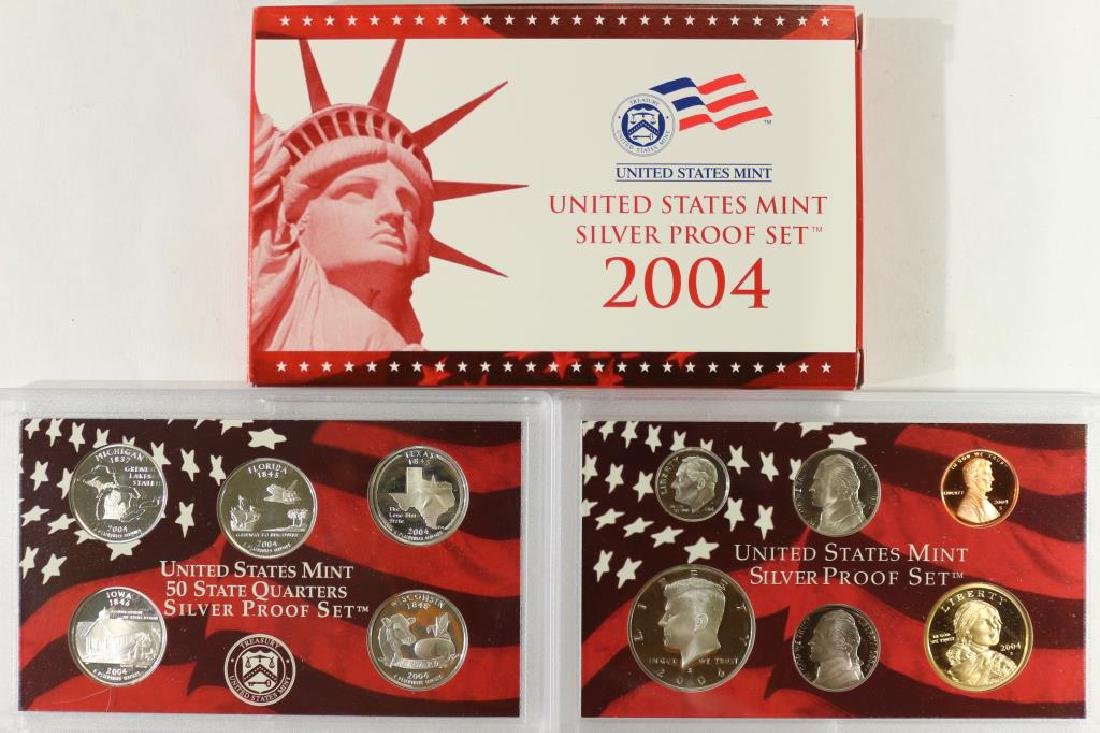 2004 SILVER US PROOF SET (WITH BOX)