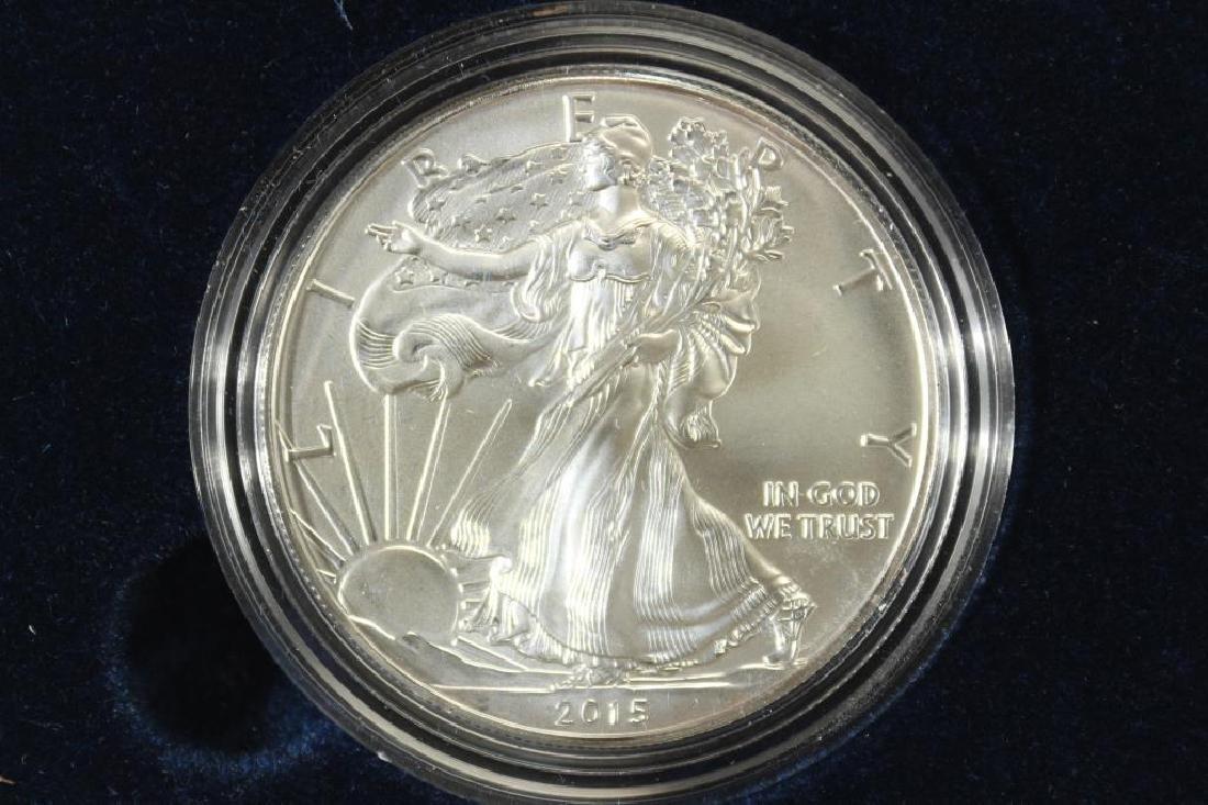 2015 (W) AMERICAN SILVER EAGLE UNC