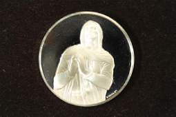 39 GRAM STERLING SILVER PROOF ROUND