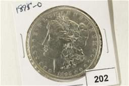 1895-O MORGAN SILVER DOLLAR KEY DATE VERY FINE