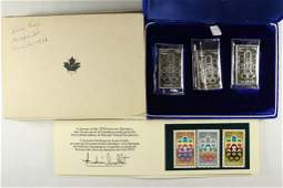 1976 CANADA PROOF OLYMPIC SET 3999 SILVER