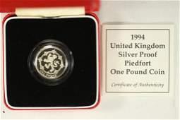 1994 UNITED KINGDOM SILVER PROOF PIEDFORT
