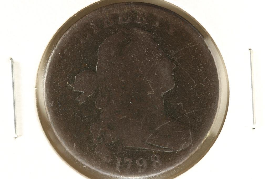 1798 US LARGE CENT (GOOD)