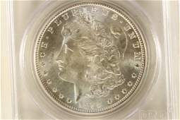 1898O MORGAN SILVER DOLLAR PCGS MS65