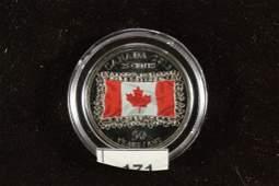 2015 CANADA COLORIZED SILVER PROOF CANADA