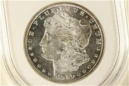 1880S MORGAN SILVER DOLLAR MS65