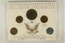 US HISTORIC COINS COLLECTION CONTAINS 1821