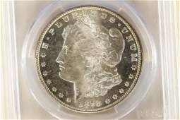 1878S MORGAN SILVER DOLLAR PCGS MS64