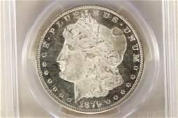 1879S MORGAN SILVER DOLLAR PCGS MS65 DMPL