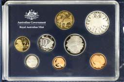 2006 AUSTRALIAN 8 COIN PROOF SET 40 YEARS OF