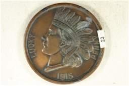 1915 SOUVENIR OF THE PANAMAPACIFIC INTERNATIONAL